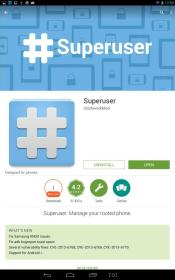 Clockwork Superuser App